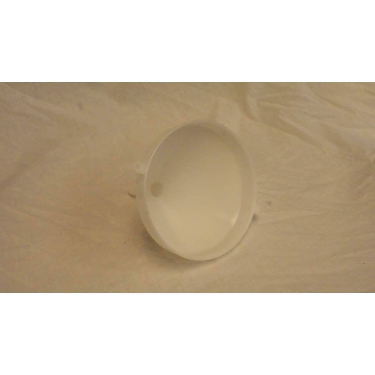 15cm White Plastic Funnel